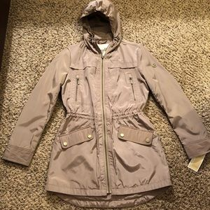 'SALE' NWT Michael Kors Soft / Rain Jacket